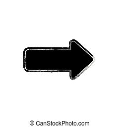 Road sign isolated