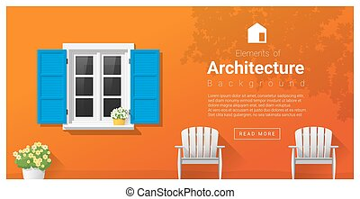 Elements of architecture , window background 1 - Elements of...