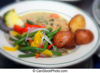 meat and potatoes - assorted dinners