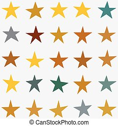 Stars Collection vector