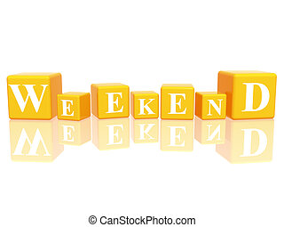 Clip Art Weekend Clip Art weekend stock illustrations 14527 clip art images and happy friday2 artby gubgib2100 in 3d cubes yellow with letters makes