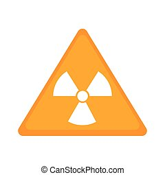 biohazard symbol alert icon vector illustration design