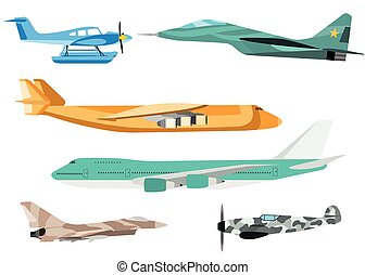 Airplane vector illustration. - Vector airplane...