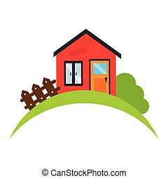 house real estate emblem