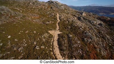 Aerial, Offroad, Portugal - Graded and stabilized version....