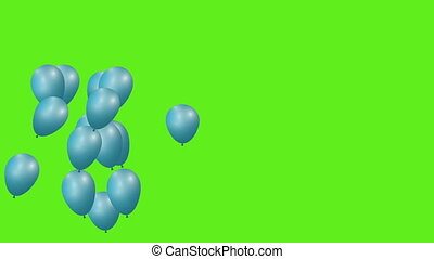 Celebration balloons - Balloons party.Flying in the Sky...