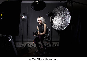 Female Professional Studio Photographer