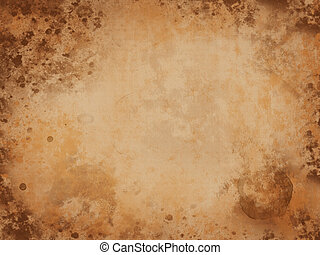 Old paper bacground - Background of grunge paper texture