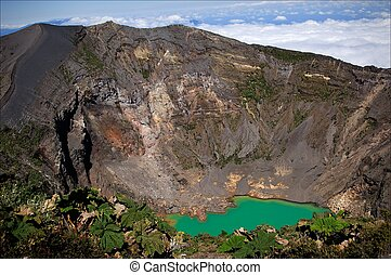 Irazu Volcano. - The Irazu Volcano is an active volcano in...