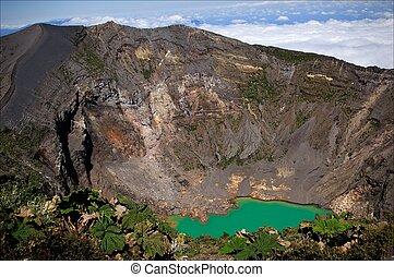 Irazu Volcano. - The Irazu Volcano is an active volcano in...