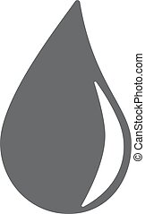 water drop icon eps10 vector eps jpg picture flat app