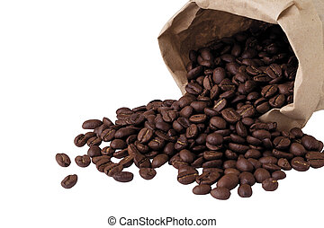 the coffee beans