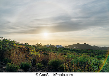 Rural landscape of Tenerife, Spain - Rural landscape of...