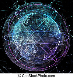 global communication orbits