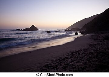 Pfeiffer Beach in Big Sur is an incredibly scenic beach