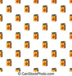 Box matches pattern, cartoon style - Box matches pattern....