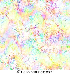 Abstract colorful smoke on white background, Multicolor clouds, Rainbow cloudy pattern, Blur texture, Seamless illustration