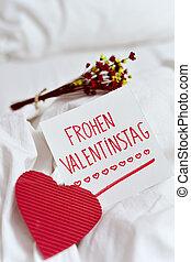 frohen valentinstag, happy valentines day in german -...