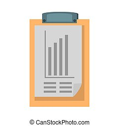 clipboard with document icon design