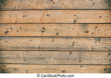 Old wooden planks background - Weathered wooden planks...