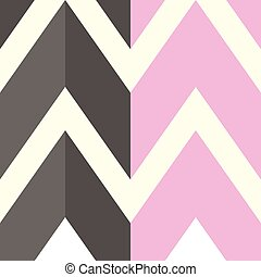 The pattern with gray and pink lines. Vector illustration