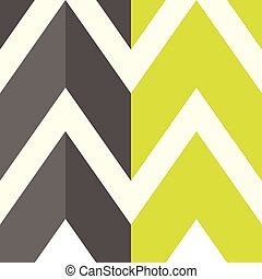 The pattern with gray and yellow lines. Vector illustration