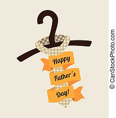 Father day card icon image, vector illustration