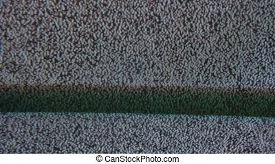 noise bad signal interference tv screen the television -...