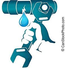 Repair of water pipe - Repair water leakage from the pipe...