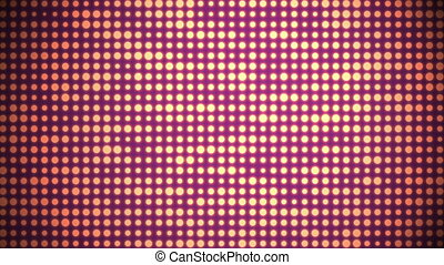 Disco Background Animation - animation of an abstrackt retro...