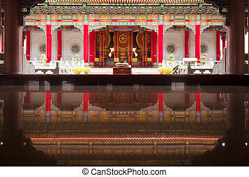 Chinese Temple, Thailand - The chinese Temple in Bangkok,...