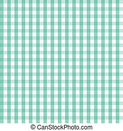 vector illustration of blue checkered tablecloth