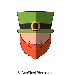 saint patrick day leprechaun shadow