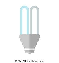 bulb saving energy light shadow