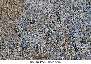 Grey Coarse Concrete Stone Wall Texture, Horizontal Macro Closeup Old Aged Weathered Detailed Natural Gray Rustic Textured Grungy Stonewall Background Pattern Detail, Blank Empty Vintage Copy Space, Red, Beige, Yellow, Reddish Grunge Limestone Dolomite Hard Sedimentary Slate Slab Rock Fragments