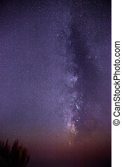 Milky Way over Filfla - Long exposure of the southern skies...