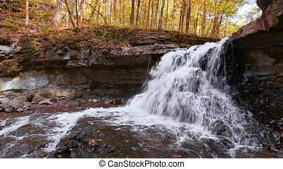 Splashing McCormicks Creek Falls Loop - In an autumn...