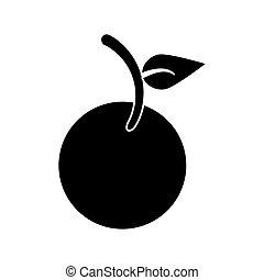 fruit vegan nutrition icon pictogram vector illustration eps...