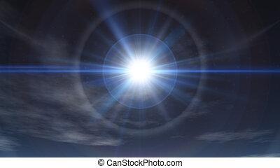clear sky sun ray