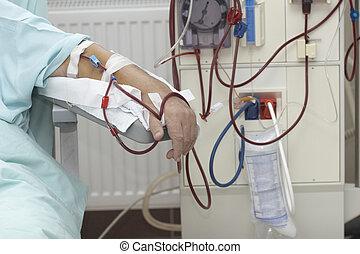 diálisis, salud, cuidado, Medicina,...