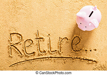Retirement Saving Concept