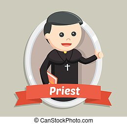 priest in emblem color