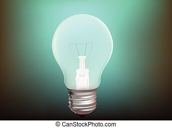 light bulb - realistic light bulb