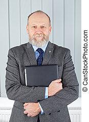 Confident businessman - Picture of a confident businessman...