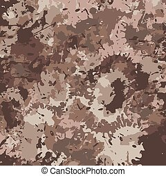 vector illustration of military camouflage pattern