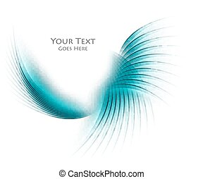 colorful vector wavy background - Colorful vector wavy...