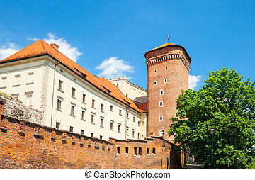 Senator's tower at Royal Wawel Castle as a part of most...
