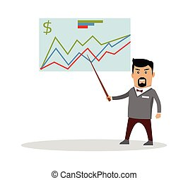 Financial Forecast Concept Vector Illustration