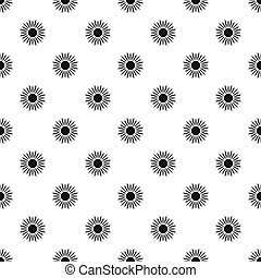Sun pattern, simple style - Sun pattern. Simple illustration...
