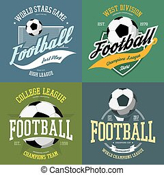 Soccer ball and football goals as sport icon
